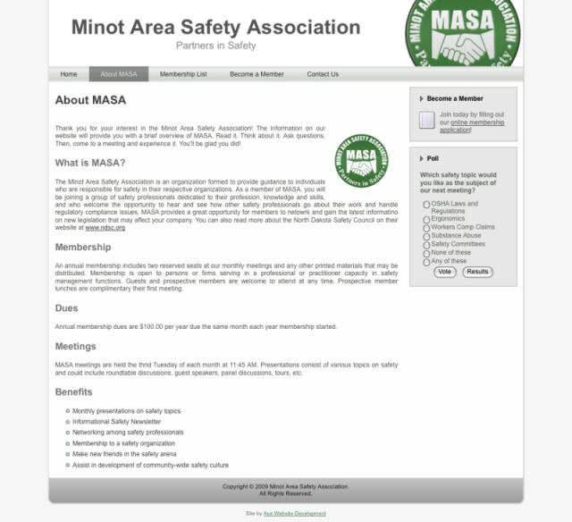 MASA Website